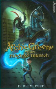 Norwegian cover Archie Greene & the Magician's Secret