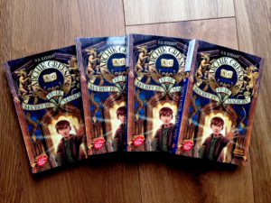Pocket editions of Archie Greene and the Magician's Secret